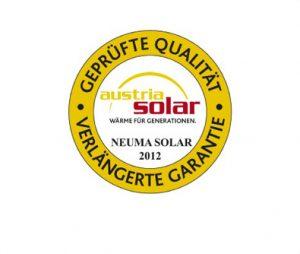 Gütesiegel Solar