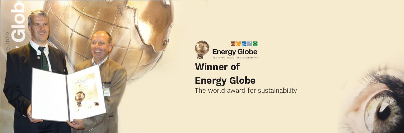 Winner of Energy Globe