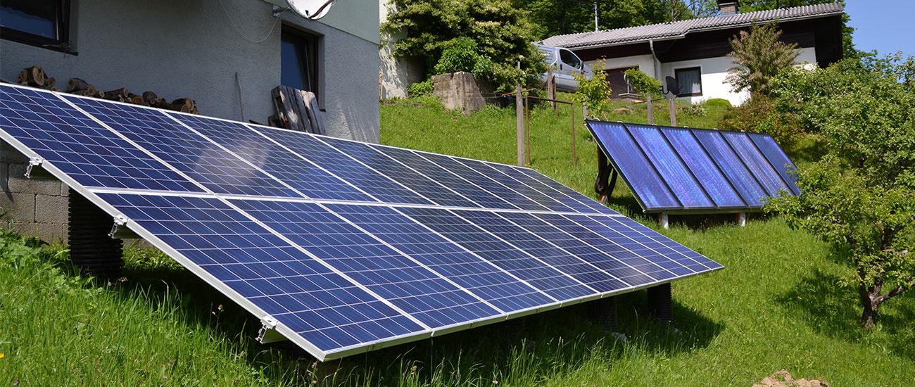 Photovoltaik mit Solar